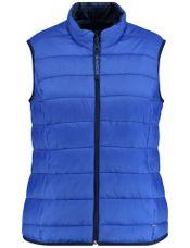Samoon Bodywarmer reversable blauw
