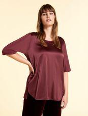 Marina Rinaldi Easy shirt bordeaux VACANZA