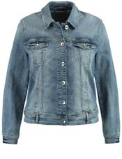 Samoon Jeansjack blue denim