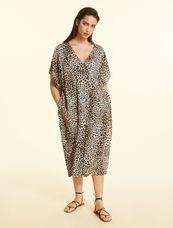 Marina Rinaldi Sport Jurk leopard print DIASPRO