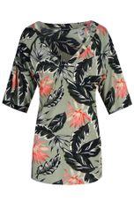 Exxcellent Shirt V-hals print MARO
