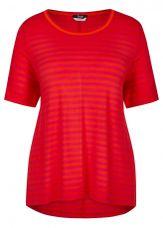 Frapp Shirt gestreept oranje rood