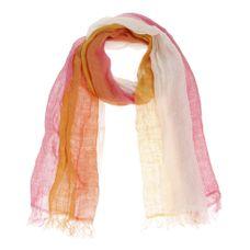 Xandres Gold Sjaal linnen roze X-TANGI