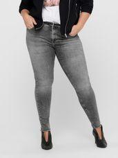 Only Carmakoma Skinny Jeans CARWILLY Grey Dnm