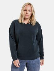Samoon Sweater jersey blauw