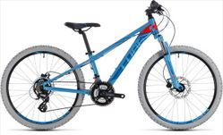 CUBE Kid 240 Disc blue/flashred 2018 24