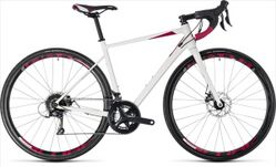 CUBE AXIAL WS PRO WHITE/BERRY 2018 53 CM
