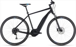 CUBE CROSS HYBRID ONE 500 BLACK/BLUE 2018 58 CM