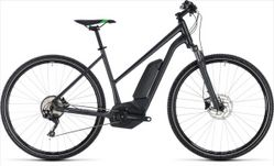 CUBE CROSS HYBRID PRO 500 GREY/GRN 2018 TRAP. 46CM