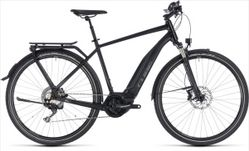 CUBE TOURING HYBRID EXC 500 BLACK/GREY 18/19 50 CM