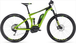 CUBE STEREO HYBRID 120 EXC 500 GREEN 2018 19