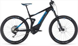 CUBE STEREO HYBRID 140 SL 500 BLACK/BLUE 2018 18