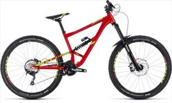 CUBE HANZZ 190 RACE 27.5 RED/LIME 2018 18
