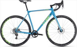 CUBE CROSS RACE SL BLUE/GREEN 2018 61 CM