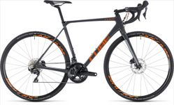 CUBE CROSS RACE C:62 PRO GREY/ORANGE 2018 58 CM