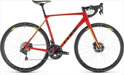 CUBE CROSS RACE C:62 SLT RED/GREEN 2018 56 CM