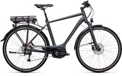 CUBE TOURING HYBRID PRO 500 GREY/RED 54