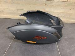 Zijscherm Piaggio Zip 4T Mat-Grijs 742/B Gedemonteerd