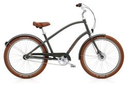 Electra Townie Balloon 3i EQ Men's 26 Army Grey