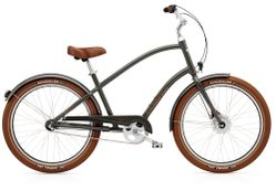 Electra Townie Balloon 7i EQ Men's 26 Army Grey