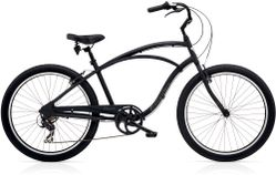 Electra Cruiser Lux 7D Men's 26 Matte Black