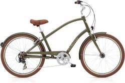Electra Townie Original 7D EQ Men's 26 Matte Khaki
