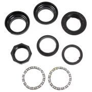 Alpina balhoofd set 12-20 Cracker black