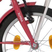 Alpina voorvork 16 CG M strawberry red