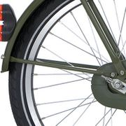 Alpina achterspatbord stang 20 CG army groen mt