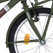 Alpina voorspatbord 18 CG army green mt