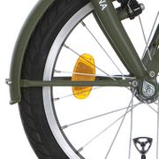 Alpinachterspatbord stang set 18 Cargo army green matt