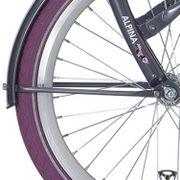 Alpinachterspatbord stang set 20 Clubb purple grey
