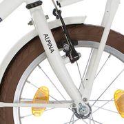 Alpina voorvork 18 CG M white matt