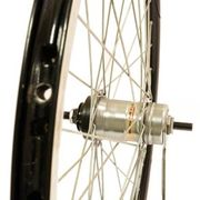 Alpina voorwiel24 R3 aero zwart sp gesp