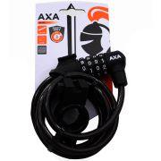 Axa spir cijferslot Rigid 180 zwart