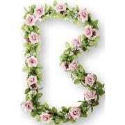 Basil bloemslinger rozen roze