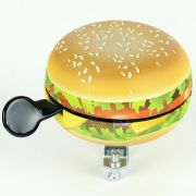 Fietsbel Widek Ding Dong Food hamburger (op kaart)