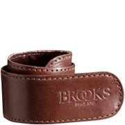 Brooks broekklem leer bruin
