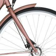 Cortina voorvork 28 U2 D rb mat roze