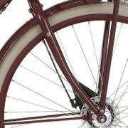 Cortina voorvork 28 D Transp rb w rood