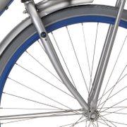 Cortina voorvork 28 Milo H zilver