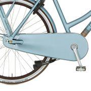 Cortina achterwielkast Nostalgia sleepy blue matt