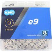 KMC achterwielE9 silver