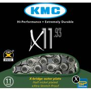 KMC achterwielX11-93 NP zilver