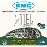 KMC achterwielX11EL NPx zilver