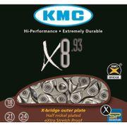 KMC achterwielX8 93 zi/grs