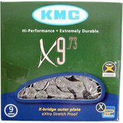 KMC achterwielX9 grey