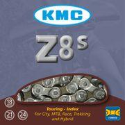 KMC achterwielZ8 half zilver