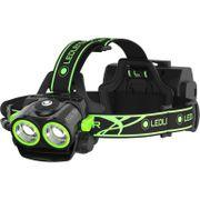 Ledlenser koplamp XEO19R opl incl. acc zw/groen