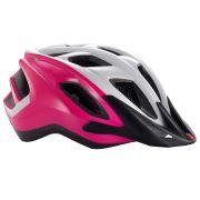 MET helm Funandgo UNI 54-61 roze/wit